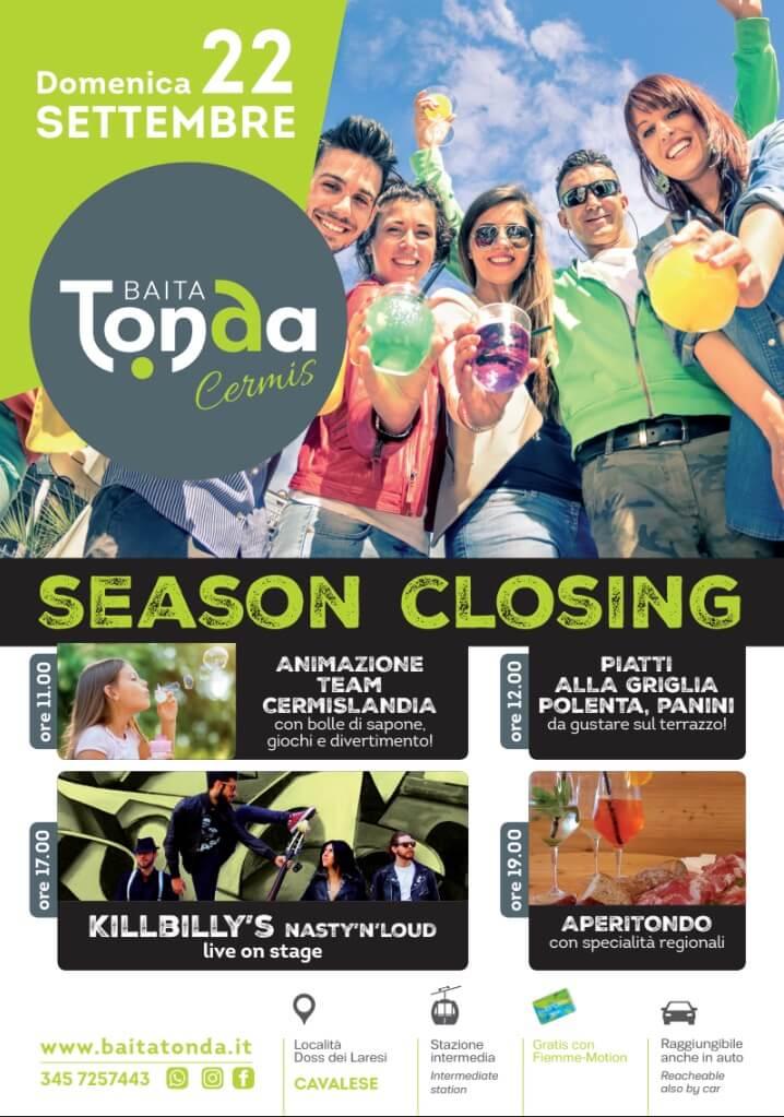 Season closing